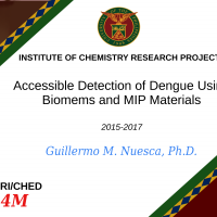 RESEARCH PROJECT: ACCESSIBLE DETECTION OF DENGUE USING BIOMEMS AND MIP MATERIALS