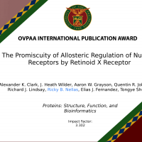 OVPAA: INTERNATIONAL PUBLICATION AWARD PROTEINS: STRUCTURE, FUNCTION, AND BIOINFORMATICS