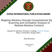 OVPAA International Publication Award Biochemistry